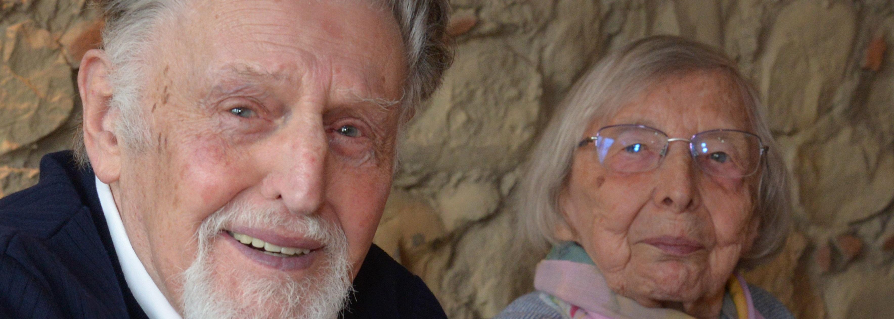 Ein Rentnerpaar