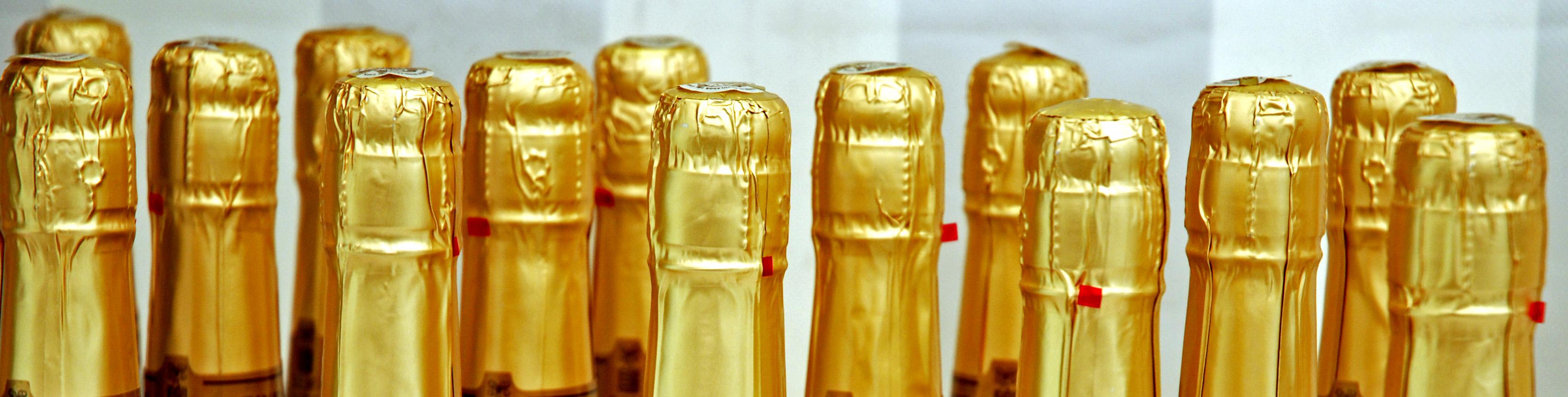 Champagner-Flaschen