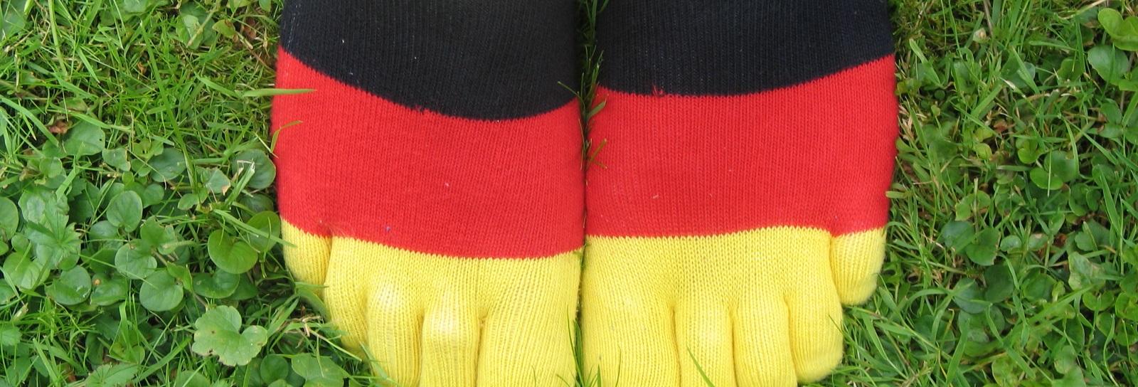 Füße in Deutschland-Socken