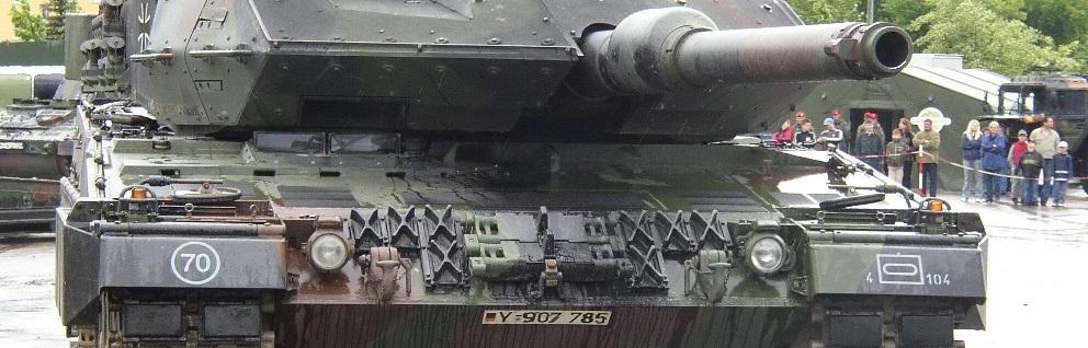 Ein Panzer