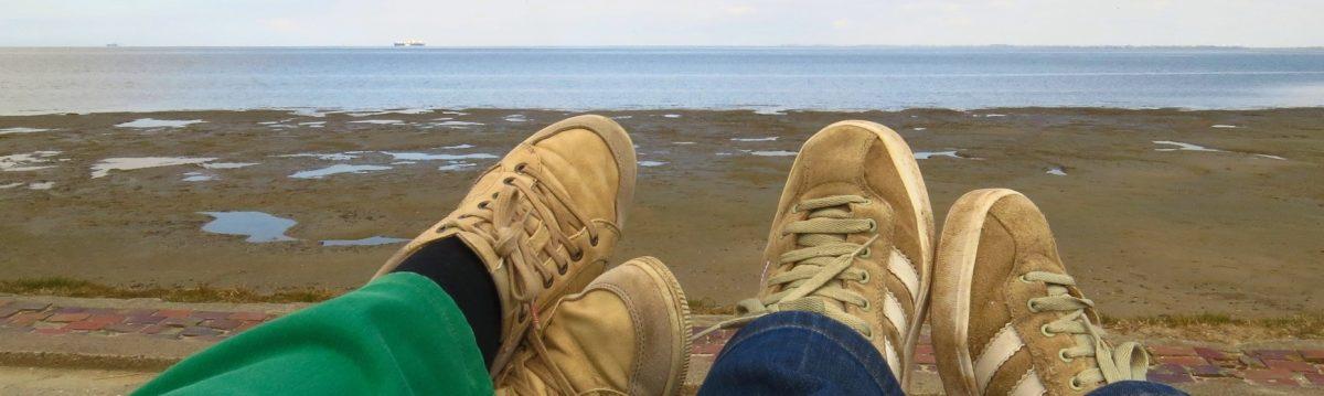 Füße hoch